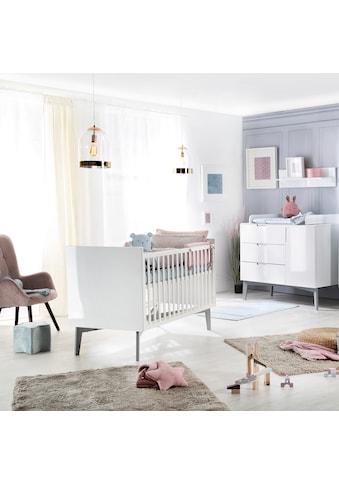 roba® Babymöbel-Set »Retro 2«, (Spar-Set, 2 St.), mit Kinderbett & Wickelkommode; Made... kaufen