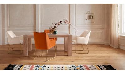 Guido Maria Kretschmer Home&Living Esstisch »Sevran«, aus massiver Wildeiche, in... kaufen