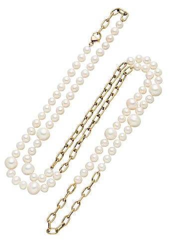 Firetti Perlenkette, Made in Germany - mit Süßwasserzuchtperle kaufen