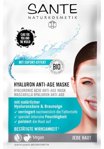 SANTE Gesichtsmaske »Hyaluron Anti-Age Maske« kaufen