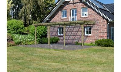 KARIBU Terrassendach »Eco Gr. C«, Breite 622 cm, verschiedene Tiefen kaufen