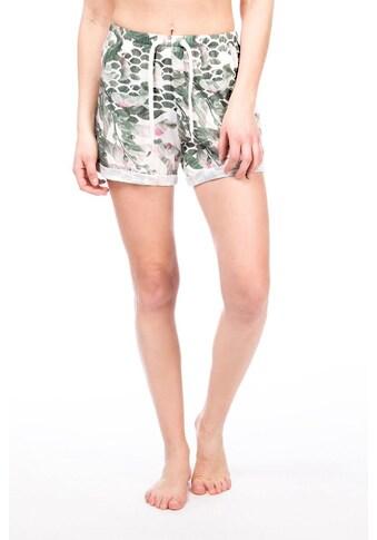 SUPER.NATURAL Shorts »W WIDE SHORTS PRINTED«, atmungsaktiver Merino-Materialmix kaufen