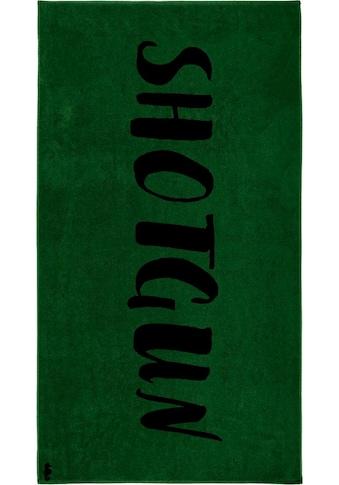 Seahorse Strandtuch »Shotgun«, (1 St.), mit Schriftzug kaufen