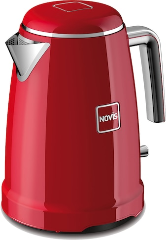 NOVIS Wasserkocher, 6113.02.20 Iconic Line  -  K1 rot, 1,6 Liter, 2400 Watt kaufen