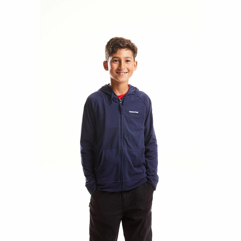 Craghoppers Kapuzensweatjacke »NosiLife Ryley Kinder-Kapuzenjacke«
