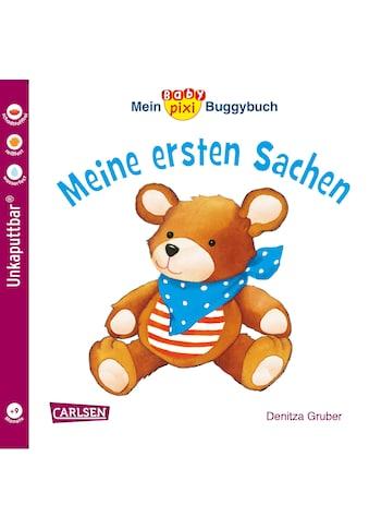 Buch »Baby Pixi (unkaputtbar) 67: Mein Baby-Pixi-Buggybuch: Meine ersten Sachen / Denitza Gruber« kaufen