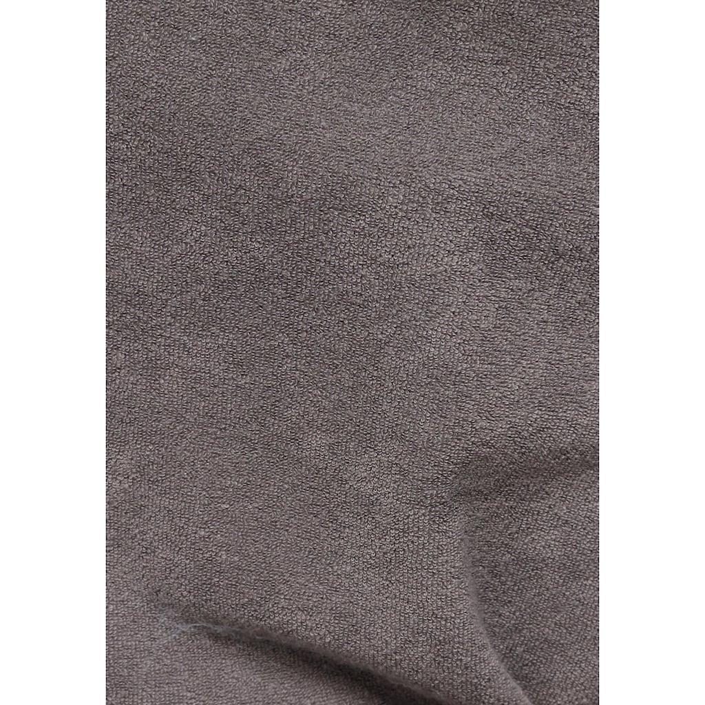 my home Damenbademantel »Jule«, in modernen Unifarben