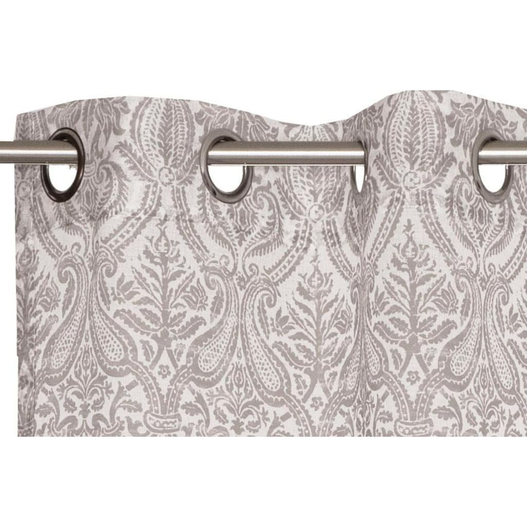 Esprit Vorhang »E-Hil«, HxB: 250x140, mit Ornamentmuster