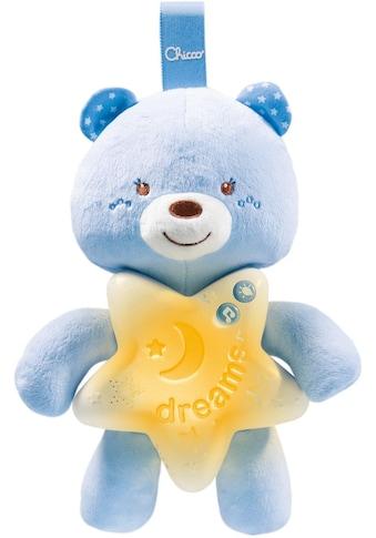 Chicco Kuscheltier »Gute Nacht Bärchen, Blau«, mit Licht und Sound kaufen
