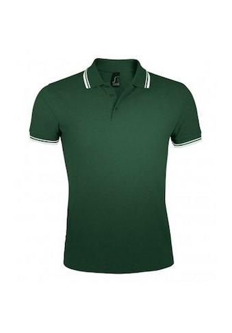 SOLS Poloshirt »Herren Pasadena Tipped Kurzarm Pique Polo« kaufen
