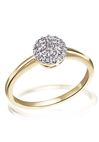 goldmaid Damenring Glamour 585 Gelbgold 21 Brillanten 0,25 ct. P1/KL kaufen