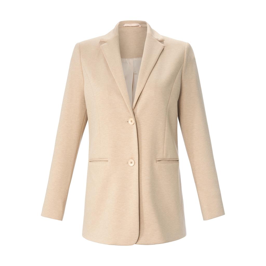 Anna Aura Sweatblazer »Jersey-Blazer«, mit Paspeltaschen