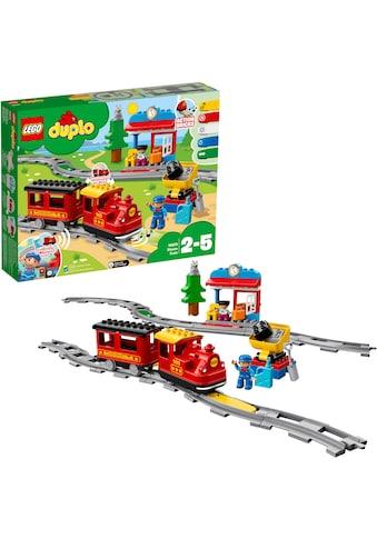 """LEGO® Konstruktionsspielsteine """"Dampfeisenbahn (10874), LEGO® DUPLO® Town"""", Kunststoff, (59 - tlg.) kaufen"""