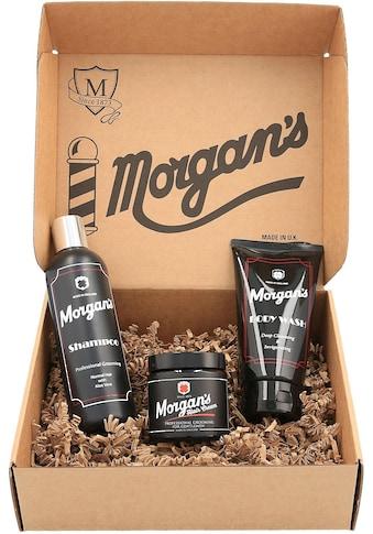 Morgan's Gesichtreinigungs-Set »Gentleman's Grooming Gift Set«, (3 tlg.) kaufen