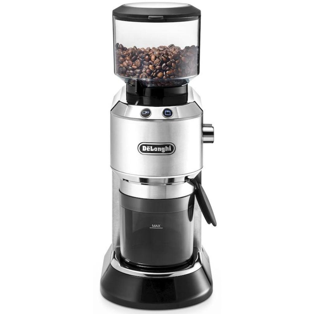 De'Longhi Kaffeemühle »Dedica KG520.M«, 150 W, Kegelmahlwerk, 350 g Bohnenbehälter, inkl. Siebträgeradapter