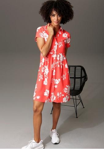 Aniston CASUAL Blusenkleid, mit Blumendruck kaufen