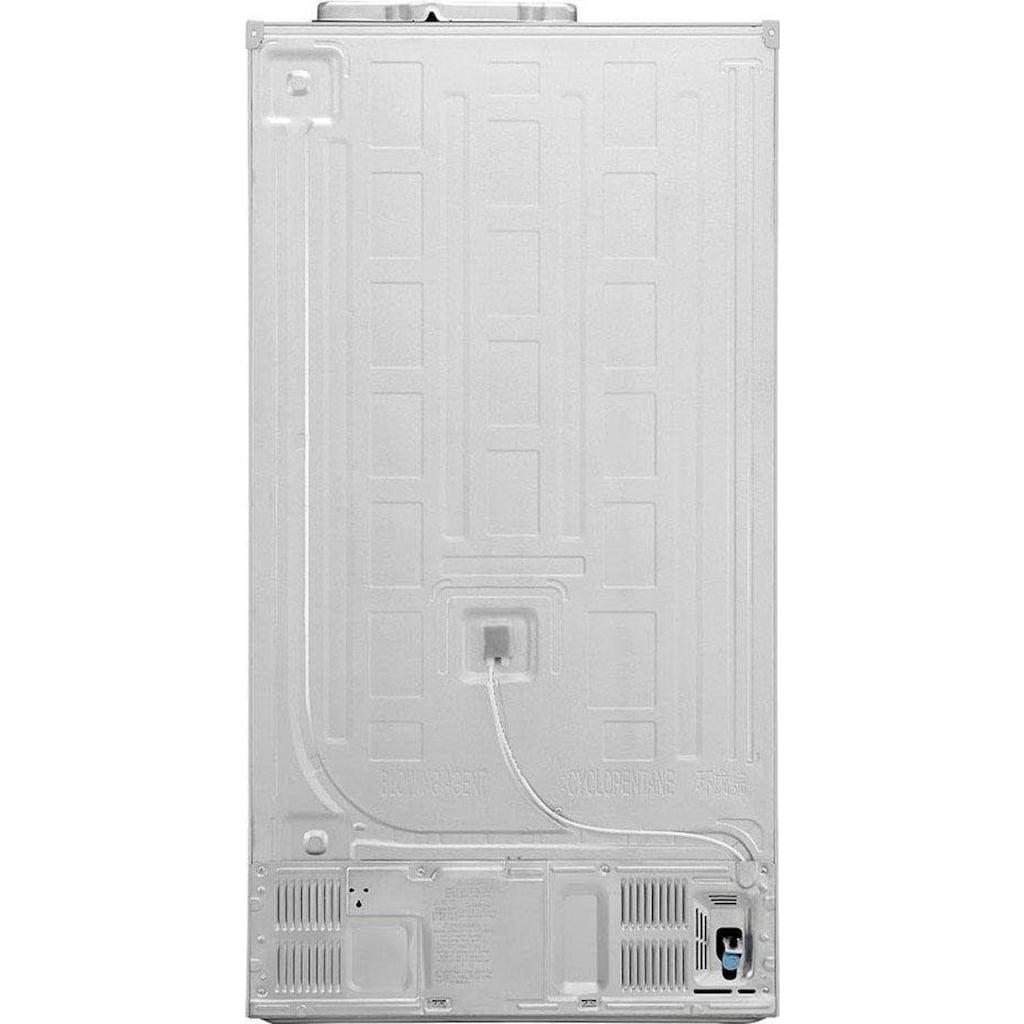 LG Side-by-Side »GSJ761«, GSJ761SWZZ, 179 cm hoch, 91,2 cm breit, Door-in-Door