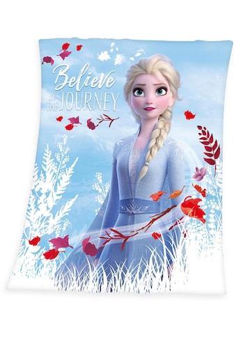 Walt Disney Kinderdecke »Die Eiskönigin 2 - Believe in the Journey«, mit tollem Motiv kaufen