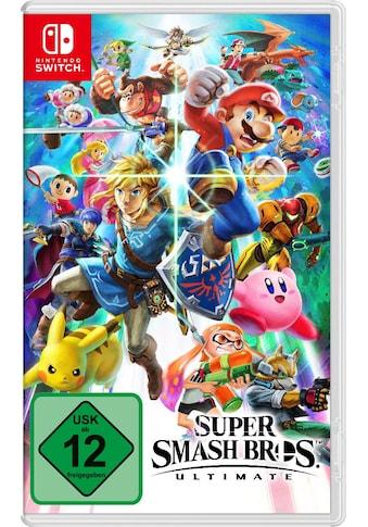 Nintendo Switch Spiel »Super Smash Bros. Ultimate Edition«, Nintendo Switch kaufen