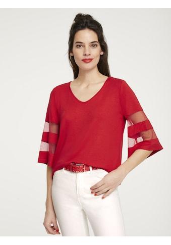 Shirt teilweise transparent kaufen