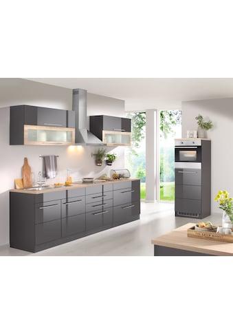 HELD MÖBEL Küchenzeile »Wien«, mit E-Geräten, Breite 340 cm, wahlweise mit Induktion kaufen