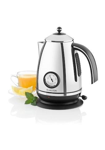 Klarstein Wasserkocher Teekessel 1,7l 2200W Thermometer kaufen