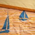 Cinderella Wendebettwäsche »Boats«, mit Segelbooten