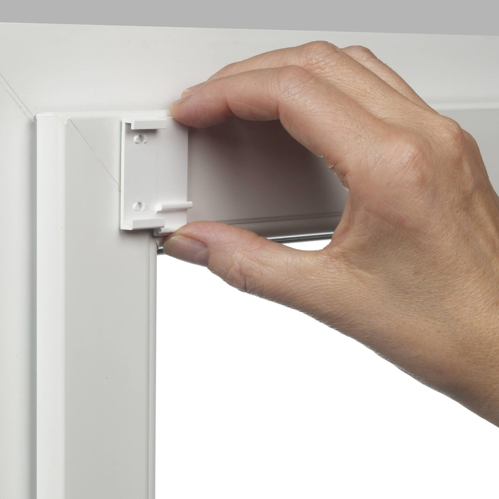 GARDINIA Seitenzugrollo »EASYFIX Rollo Uni«, Lichtschutz, ohne Bohren, im Fixmaß