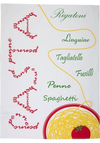 """stuco Geschirrtuch """"Pomodoro"""" (Set, 3 - tlg.) kaufen"""