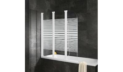 SCHULTE Badewannenaufsatz »Komfort«, teilgerahmt, 3 - teilig kaufen