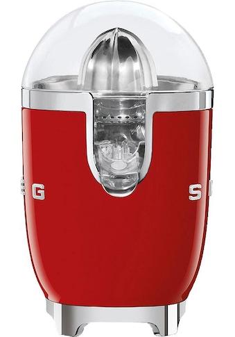 Smeg Zitruspresse CJF01RDEU, 70 Watt kaufen