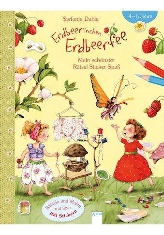 Buch Erdbeerinchen Erdbeerfee. Mein schönster Rätsel - Sticker - Spaß / Stefanie Dahle, Stefanie Dahle, Corina Beurenmeister kaufen