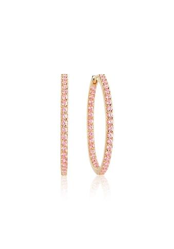 Sif Jakobs Jewellery Creolen mit funkelndem Besatz »BOVALINO EARRINGS« kaufen