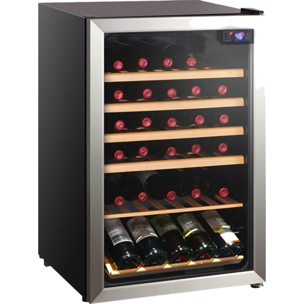 Hanseatic Weinkühlschrank »HWC45FCBH«, für 45 Standardflaschen á 075l