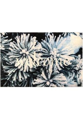 my home Fußmatte »Welcome -Frost«, rechteckig, 5 mm Höhe kaufen