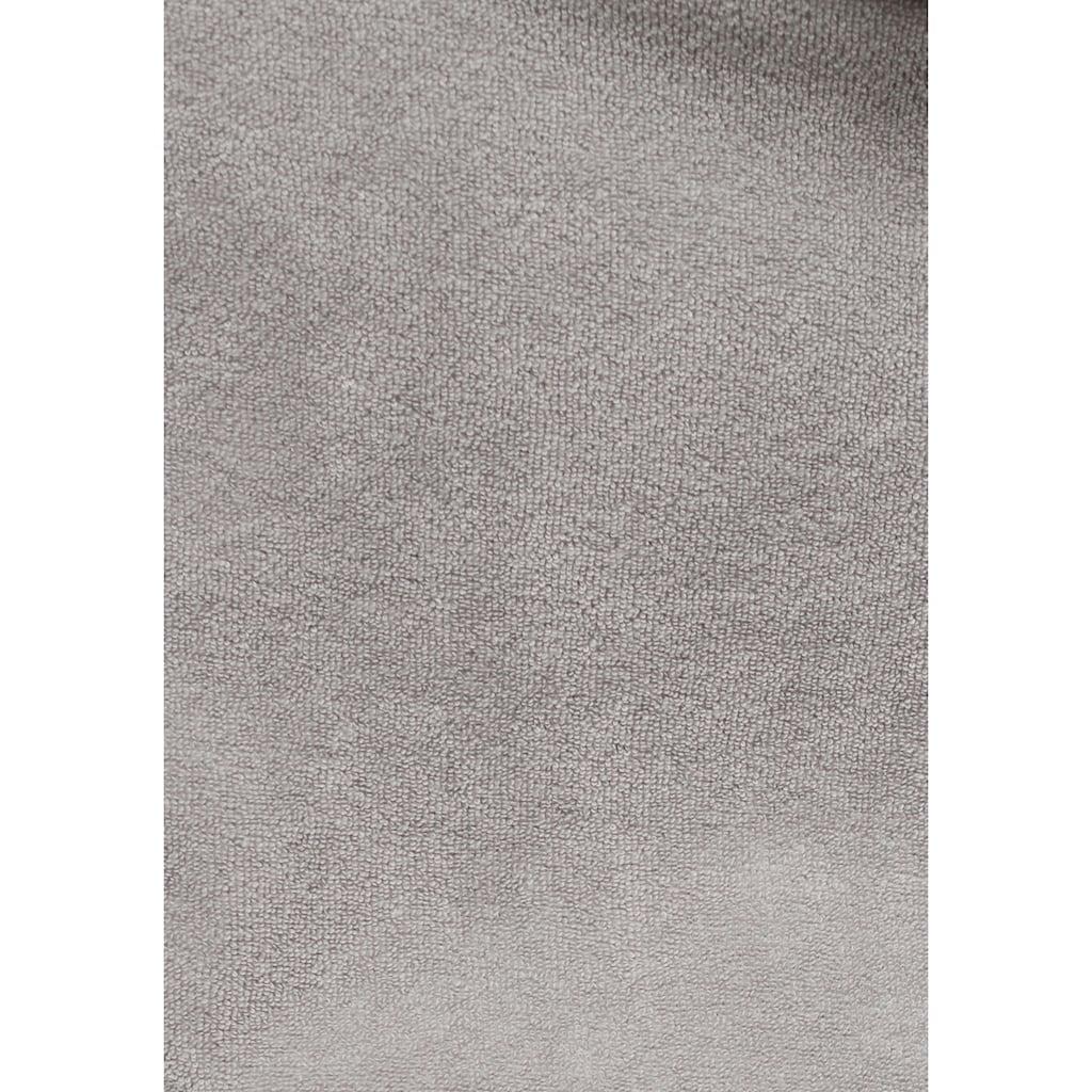 my home Damenbademantel »Sina«, in modernen Unifarben