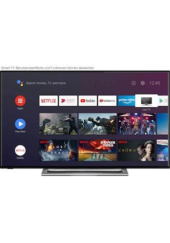 "Toshiba LED-Fernseher »58UA3A63DG«, 146 cm/58 "", 4K Ultra HD, Smart-TV, HDR, Android TV kaufen"