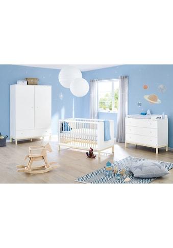 Pinolino® Babyzimmer-Komplettset »Skadi«, (Set, 3 St.), breit, FSC®-Holz aus... kaufen