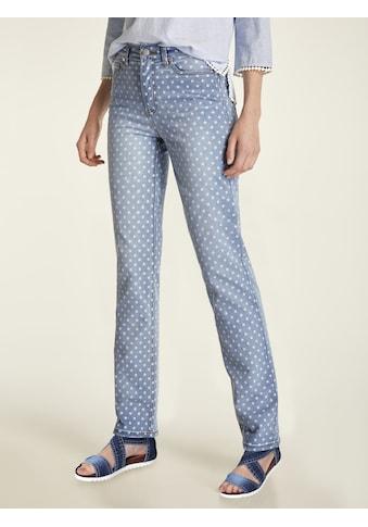 LINEA TESINI by Heine 5-Pocket-Jeans, mit Tupfen kaufen