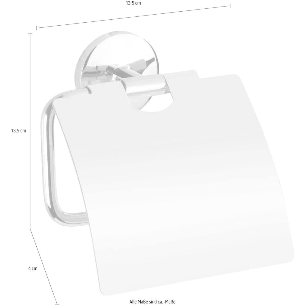 WENKO Toilettenpapierhalter »Cuba«, 13,5 x 4 x 13,5 cm