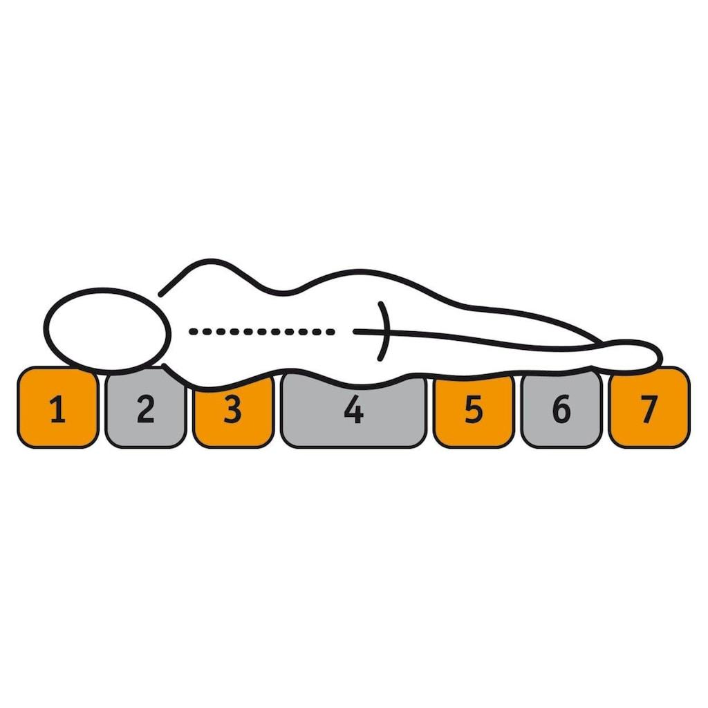 f.a.n. Schlafkomfort Taschenfederkernmatratze »Taschenfederkernmatratze »Pro Vita Luxus T«, 90/190, ca. 20 cm hoch, f.a.n.«, 20 cm cm hoch, (1 St.)