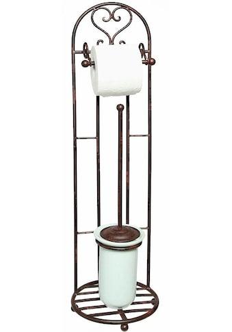 Ambiente Haus Toilettenpapierhalter »Antik«, antikbraun kaufen