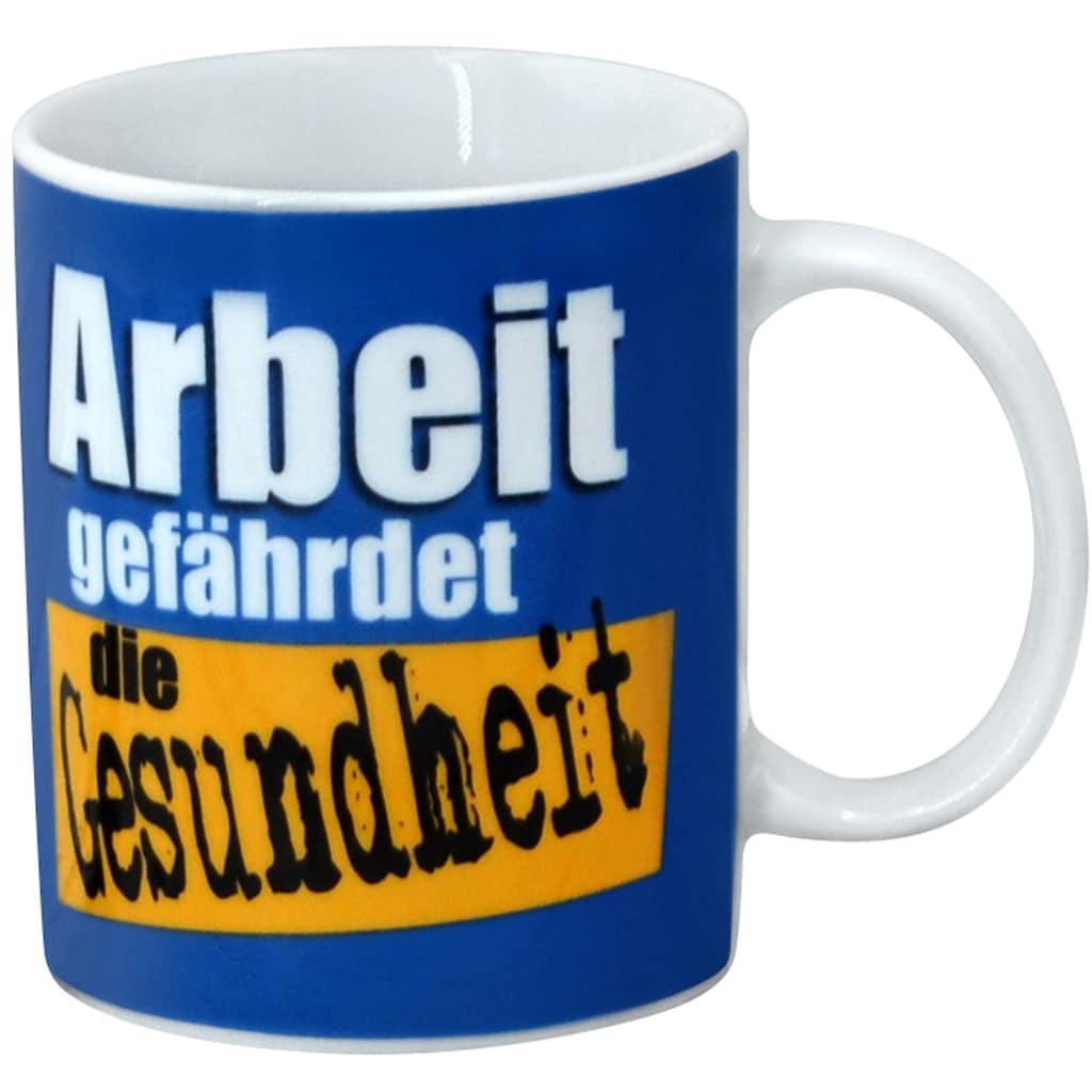 Retsch Arzberg Becher »Bürosprüche«, (Set, 6 tlg.), 6-teilig