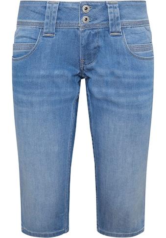 Pepe Jeans Caprijeans »VENUS CROP«, mit Stretch & doppel Knopf Bund kaufen