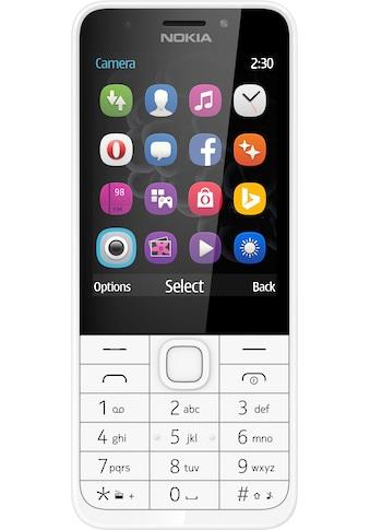 Nokia 230 Handy (7,11 cm / 2,8 Zoll, 2 MP Kamera) kaufen