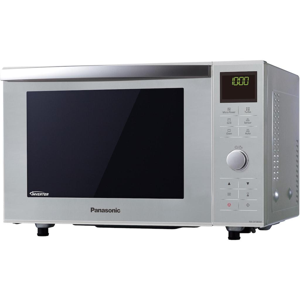 Panasonic Mikrowelle »NN-DF385MEPG«, Grill-Ober-/Unterhitze, 1000 W