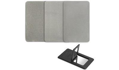 SHARPAL Schleifstein »Credit Card Diamond 3pc - Coarse, Fine, ExtraFine«, Diamantcards kaufen