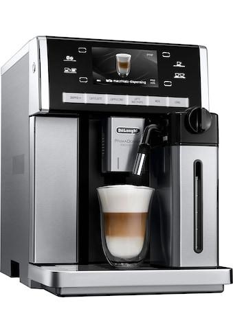 De'Longhi Kaffeevollautomat PRIMADONNA EXCLUSIVE ESAM 6850.M, 1,4l Tank, Kegelmahlwerk kaufen