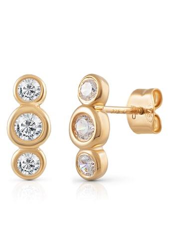Firetti Paar Ohrstecker »runde Elemente, glänzend«, mit Zirkonia kaufen