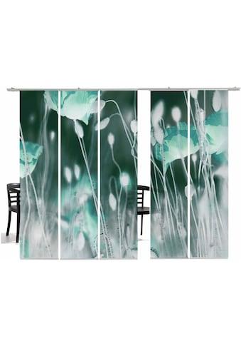 emotion textiles Schiebegardine »WilderMohn TR«, HxB: 260x60, inkl. Befestigungszubehör kaufen